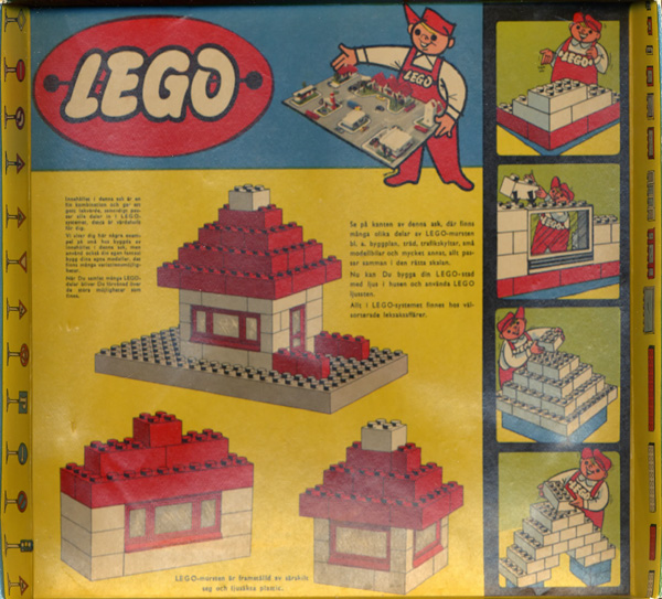 Lego Set 700 5 1958 Sweden Images And Contents